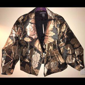 Black and golden blazer, size 2